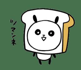 Panda bread sticker sticker #1802924
