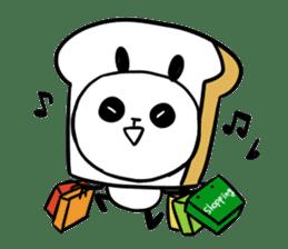 Panda bread sticker sticker #1802948