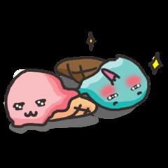 Ice-cream Couple