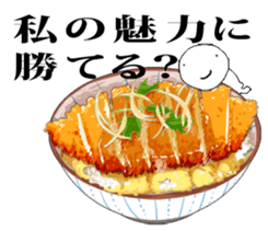 Delicious food and Mr Appetite sticker #1809761
