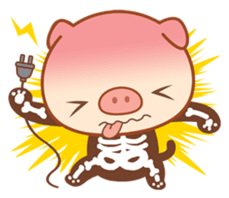 PINK Piggy sticker #1811897