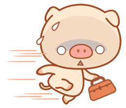 PINK Piggy sticker #1811911