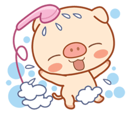 PINK Piggy sticker #1811912