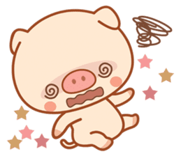 PINK Piggy sticker #1811917