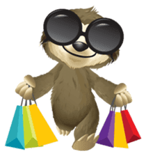 Matty the Sloth: Hanging Out sticker #1815802