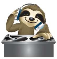 Matty the Sloth: Hanging Out sticker #1815803