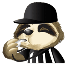 Matty the Sloth: Hanging Out sticker #1815807