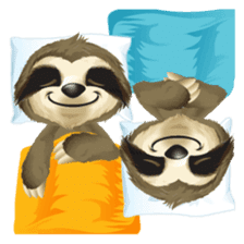 Matty the Sloth: Hanging Out sticker #1815808
