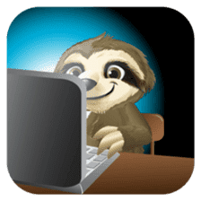 Matty the Sloth: Hanging Out sticker #1815812