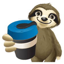 Matty the Sloth: Hanging Out sticker #1815814