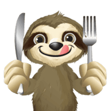Matty the Sloth: Hanging Out sticker #1815815