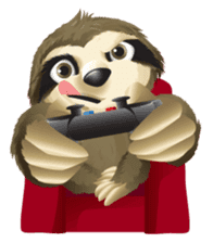 Matty the Sloth: Hanging Out sticker #1815816