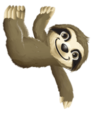 Matty the Sloth: Hanging Out sticker #1815817