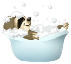 Matty the Sloth: Hanging Out sticker #1815819