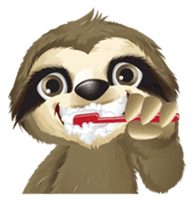 Matty the Sloth: Hanging Out sticker #1815820