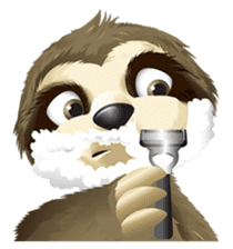 Matty the Sloth: Hanging Out sticker #1815821