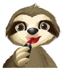 Matty the Sloth: Hanging Out sticker #1815823
