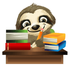 Matty the Sloth: Hanging Out sticker #1815826