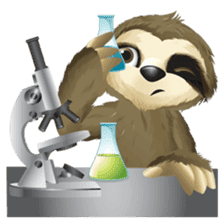 Matty the Sloth: Hanging Out sticker #1815827