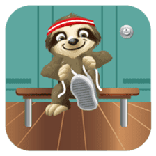 Matty the Sloth: Hanging Out sticker #1815829