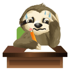 Matty the Sloth: Hanging Out sticker #1815830