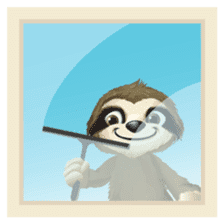 Matty the Sloth: Hanging Out sticker #1815835