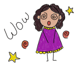 Children Art Style - (ENGLISH) sticker #1817051
