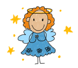 Children Art Style - (ENGLISH) sticker #1817059