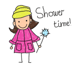 Children Art Style - (ENGLISH) sticker #1817066