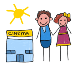 Children Art Style - (ENGLISH) sticker #1817076