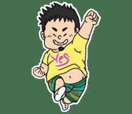 Everyday chubby man second sticker #1820362