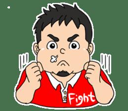 Everyday chubby man second sticker #1820366