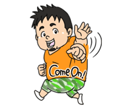 Everyday chubby man second sticker #1820368