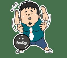 Everyday chubby man second sticker #1820375