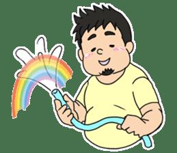 Everyday chubby man second sticker #1820383