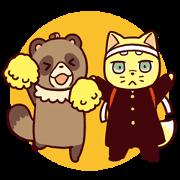 สติ๊กเกอร์ไลน์ Muku & Sansyo