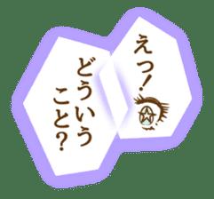 Kawaii Manga Comic sticker #1822209