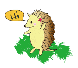 Hedgehog's Lovely LIFE sticker #1822281