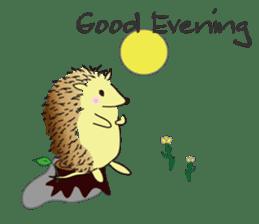 Hedgehog's Lovely LIFE sticker #1822283
