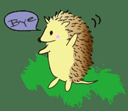 Hedgehog's Lovely LIFE sticker #1822284