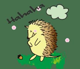 Hedgehog's Lovely LIFE sticker #1822286