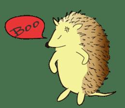 Hedgehog's Lovely LIFE sticker #1822287