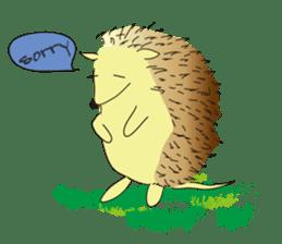 Hedgehog's Lovely LIFE sticker #1822288