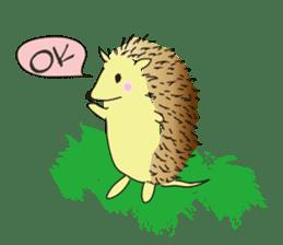 Hedgehog's Lovely LIFE sticker #1822289