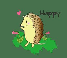 Hedgehog's Lovely LIFE sticker #1822291