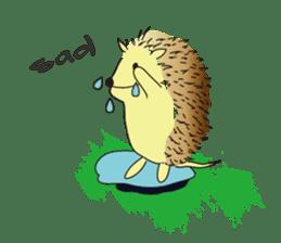 Hedgehog's Lovely LIFE sticker #1822292