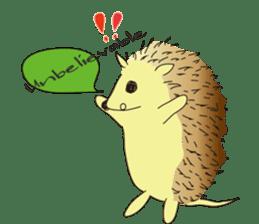 Hedgehog's Lovely LIFE sticker #1822294