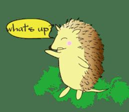 Hedgehog's Lovely LIFE sticker #1822295