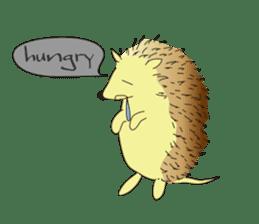 Hedgehog's Lovely LIFE sticker #1822296