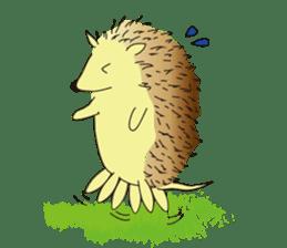 Hedgehog's Lovely LIFE sticker #1822298